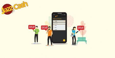 Depositar fondos en Binomo a través de transferencia bancaria de Pakistán (Easypaisa SMS, Jazz Cash SMS)