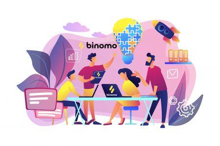 Cómo unirse al programa de afiliados y convertirse en socio de Binomo