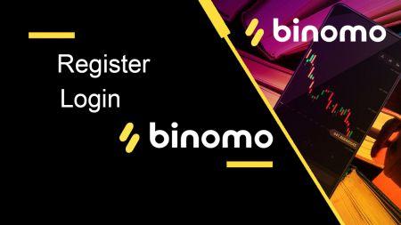 Cómo registrarse e iniciar sesión en una cuenta en Binomo